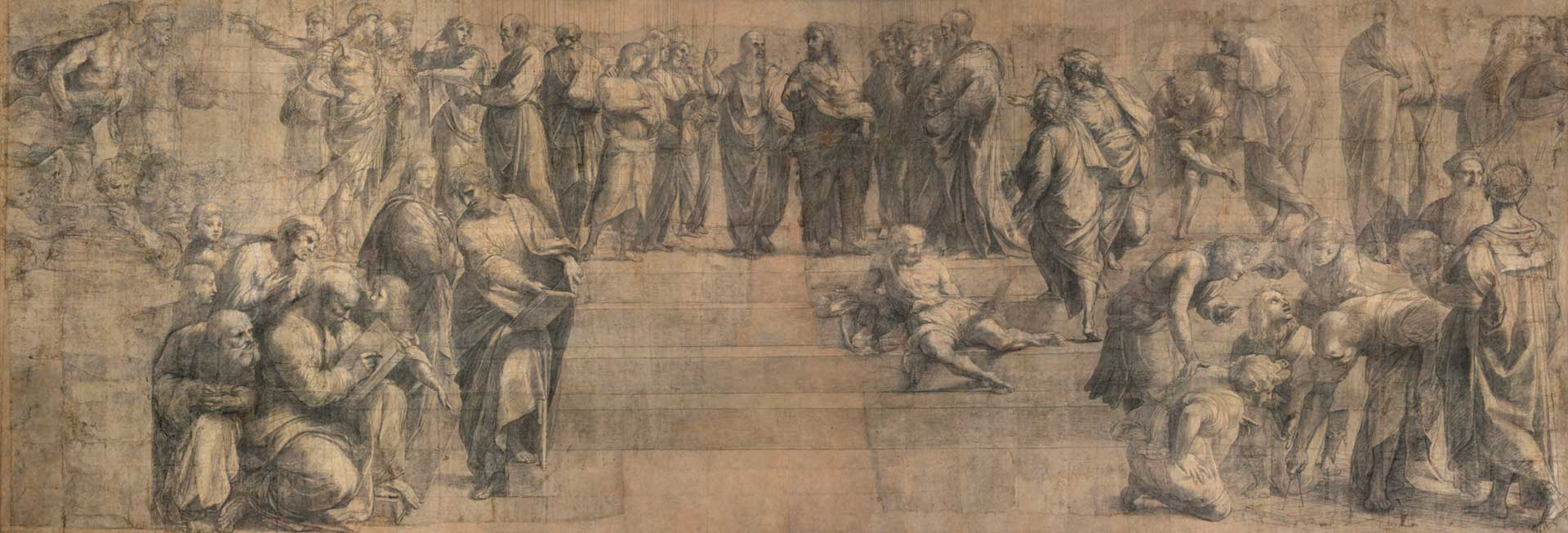 Philosophy-Raffaello-Sanzio-at-Pinacoteca-Ambrosiana